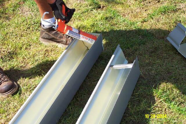 Discount Seamless Rain Gutters By Aa Raintex Installation